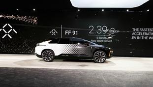 乐视在美正式发布量产车FF91